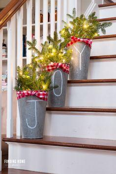 Utiliza tu creatividad y decora cada parte de tu casa, incluyendo las escaleras!