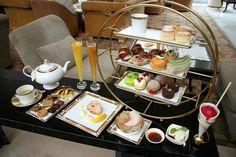 LOUNGE Ritz-Carlton Millenia Singapore  Go for High tea every other week~~