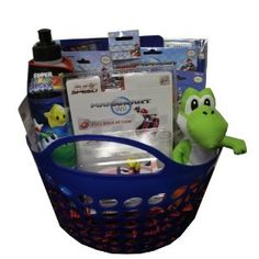 Nintendo Super Mario Easter Basket - Perfect for Birthdays, Easter, Christmas, Get Well Soon Gift, or Other Special Occasion (Toy) http://www.amazon.com/dp/B0038PDDUS/?tag=healthresearc-20 healthresearchtoday.com/redirector.php=B0038PDDUS