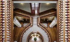 insane staircase Vidago Palace