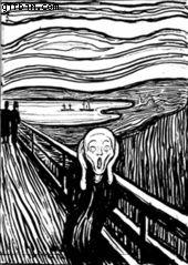 Edvard Munch's trippy Scream
