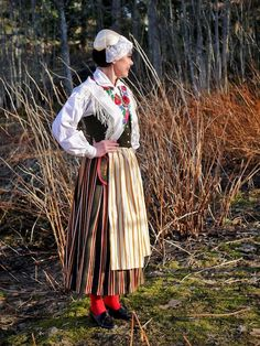 Folk Costume, Costumes, Folk Clothing, Traditional Clothes, Folklore, Finland, Culture, Embroidery, Crafts