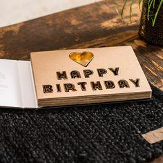 """Happy Birthday Ausstechförmchen als attraktives Geschenk verpackt, in Form eines aufklappbaren Buches """"Kitchen Stories"""" Form, Usb Flash Drive, Happy Birthday, Gifts For Women, Wrapping Gifts, Packaging, Birthday, Happy Aniversary, Happy Brithday"""