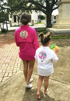Lilly Pulitzer Monogrammed Youth Columbia Fishing Shirt by TantrumEmbroidery on Etsy