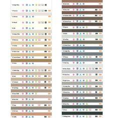 Laticrete Grout Chart Floorlife