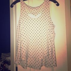 Lush tank with cut out back Lush (Nordstrom) tank top with super cute cutout back! Lush Tops Tank Tops