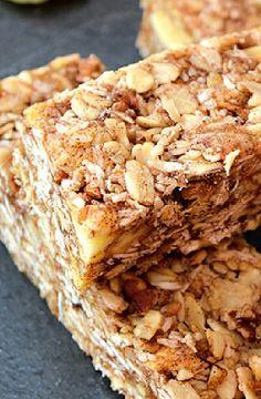 Low FODMAP Recipe and Gluten Free Recipe - Cinnamon granola bars http://www.ibs-health.com/low_fodmap_cinnmaon_granola_bars.html
