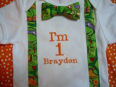 Teenage Mutant Ninja Turtles Fun Bowtie Tee shirt by IdaJanesWorks, $16.00