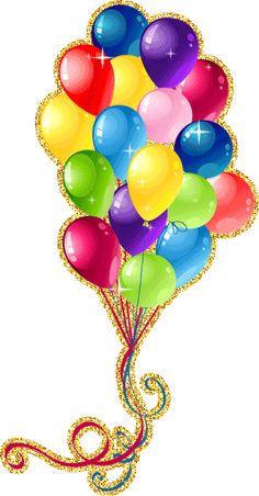 "Photo from album ""шарики"" on Yandex. Happy Birthday Greetings Friends, Happy Birthday Wishes Photos, Happy Birthday Wishes Cards, Happy Birthday Jesus, Funny Birthday Cards, Images Emoji, Birthday Clips, Glitter Flowers, Birthday Balloons"
