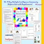 Follow my store for a weekly freebie!Teacher created and used unit. SUPPLEMENTS INCLUDED! multiple intelligence unit. WOW ! 39 pagesThis is a co...