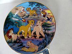 Lion King plate Bradford exchange disney friends and companions