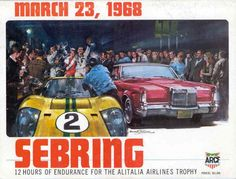 1e282252d56 Mar 8 World Sportscar at Sebring 2hr (double-points) Vintage Sports Cars