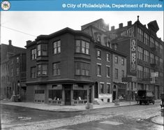PhillyHistory.org - Perspective of South-east corner 12th and Locust
