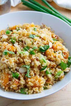 Apricot Quinoa Salad