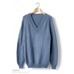 Adult Knit V-Neck Pullover