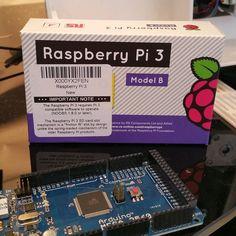 Mmmmmm raspberry pi with a side of arduino. . . . . . . #raspberrypi #arduino #electronics #computer #linux #3dprinting #3dprinter by im_0n_a_bike