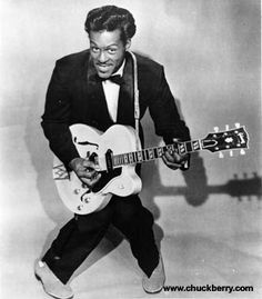 Chuck Berry, rock star. (Saw him perform at some corporate function in Milwaukee in the 1980s) (KevinR@Ky)