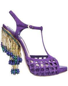 les sandales salomé de dior, collection croisière 2009