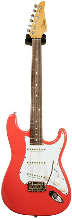 Suhr Classic Antique Fiesta Red SSS RW #JST6V4L Main Product Image