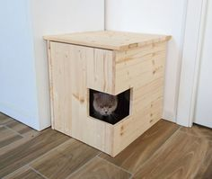 Corner Litter Box Cover Pet House Cat Litter Box Cabinet