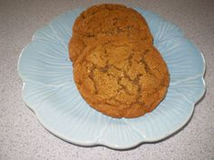 candied ginger molasses cookies by BlueRibbonConfection on Etsy