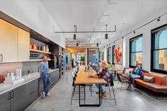 ASID's Outcome of Design Awards Honors Data-Driven Interiors - Metropolis Office Nyc, Office Canteen, New York Office, Look Office, Office Decor, Lawyer Office, Smart Office, Office Plan, Office Ideas