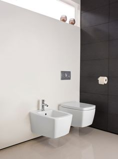 Touch Back To Wall WC in Touch | Bauhaus Bathrooms - Furniture, Suites, Basins - Ultimate Bathroom Solutions