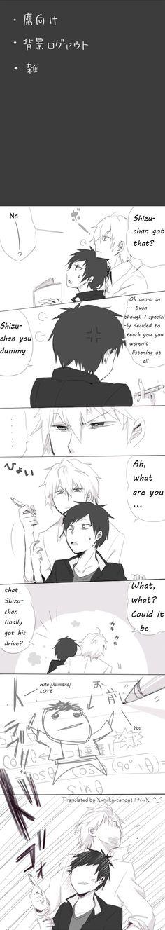 LMFAO. You're quite the artist, Shizu-chan.~ I'm jealous.