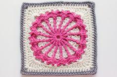 Carousel Square: free crochet pattern