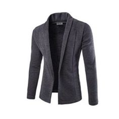 Cheap mens brand cardigan, Buy Quality men cardigan directly from China brand cardigan mens Suppliers: Sweater Men 2017 Brand Concise V-Neck Sweater Coat Cardigan Male Solid Color Slim Mens Cardigan Sweater Coat Man Cardigan Men Blazers For Men Casual, Casual Blazer, Casual Man, Casual Suit, Smart Casual, Sweater Coats, Men Sweater, Cardigan Sweaters, Knit Cardigan