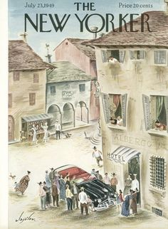 The New Yorker - Saturday, July 23, 1949 - Issue # 1275 - Vol. 25 - N° 22 - Cover by : Constantin Alajalov