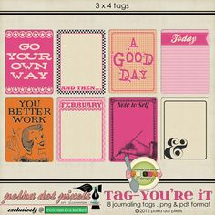 printable cards - love that top right option & to print on kraft!!