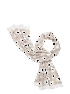 faye floral oblong scarf