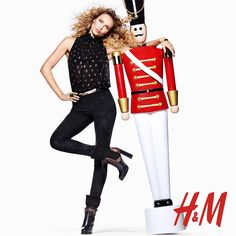 hm holiday 2015 campaign with jourdan dunn and natasha poly - Hm Christmas