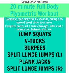 20 minute Full Body