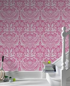 """wallpaper, making a comeback? yes please! """"Desire"""" By Wall Candy Wallpaper"""
