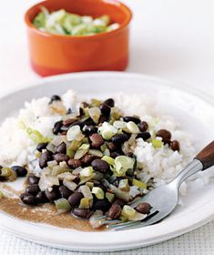 Black Beans and Rice - need to make a big batch of this to have during the week