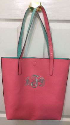 Walmart tote bag ($7). Monogrammed with my Brother Quattro 2 6700D ...