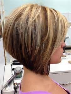medium stacked bob hairstyles short stacked bob hairstyles with bangs ...