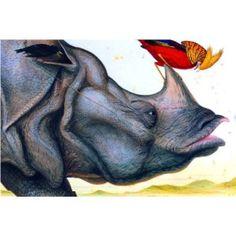Walton Ford...master! Walton Ford, Graphic Illustration, Illustrations, Nature Artists, Rhinos, Color Art, Tantra, Unicorns, Surrealism