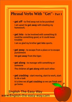 phrasal verbs with-GET