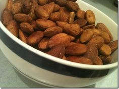 more chili lime almonds - obviously I'm going to choose one of these recipes to make, or a combination of them all.