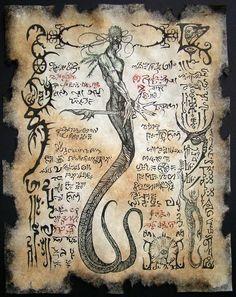 Cthulhu LARP Cult of YIG Lovecraft Monsters Necronomicon Occult Dark Art  Demons | eBay www.stella-stroy-dv.ru