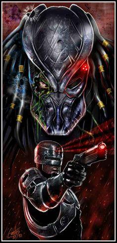 Predator vs Robocop