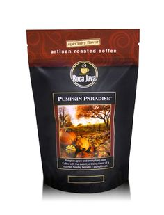 So excited to announce that our Pumpkin Coffee is officially and finally back for the season aas of August Boca Java Pumpkin Coffee - Made with Direct Trade Coffee beans from Nicaragua. Pumpkin Spice Coffee, Spiced Coffee, Fresh Coffee, Coffee Club, Coffee Coffee, Cocoa Tea, Coffee Review, How To Order Coffee, Coffee Roasting