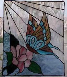 Butterfly by Ruby Johnson of Las Vegas, NV - Warner Stained Glass - Online Gallery