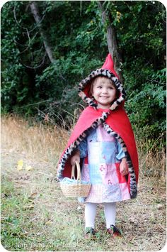 Nap Time Crafters: Little Red Riding Hood Costume Tutorial