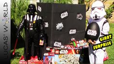 World's Biggest STAR WARS Surprise Box with New STAR WARS The Force Awak...