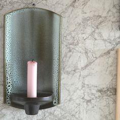 super fin Knabstrup keramik lysestage til ophæng - 179kr