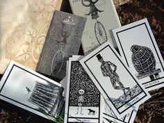 Edward Gorey Tarot Cards
